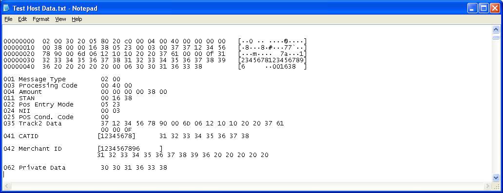ISO8583 Message Decoder